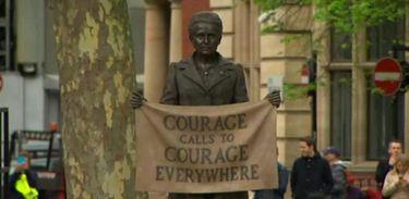 Londres inaugurou estátua em homenagem à sufragista Millicent Fawcett