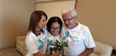 A assistente social Márcia Torres é fundadora do grupo 'Amigos solidários na dor do luto'