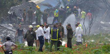 Três mulheres sobreviveram ao acidente