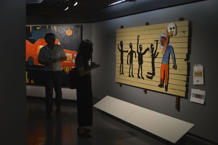 São Paulo - A exposição Jean-Michel Basquiat, com curadoria de Pieter Tjabbes, será aberta nesta quinta-feira (25) no CCBB-SP (Rovena Rosa/Agência Brasil)