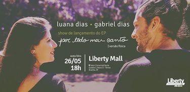 Gabriel Dias e Luana Dias