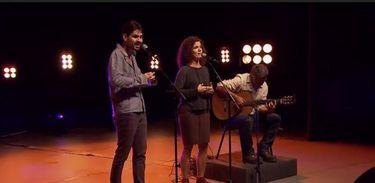 Guinga faz show intimista com Anna Paes e Thiago Amud