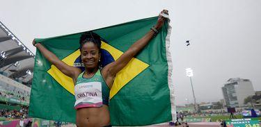Brasil ganha medalha no atletismo