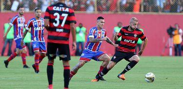 Vitória 0 X 1 Bahia
