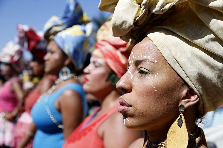 3ª Marcha das Mulheres Negras no Centro do Mundo, no RJ