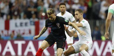 Inglaterra X Croácia, Copa 2018