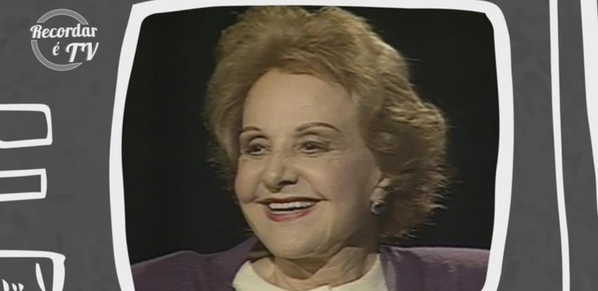 Recordar é TV homenageia a atriz Eva Todor