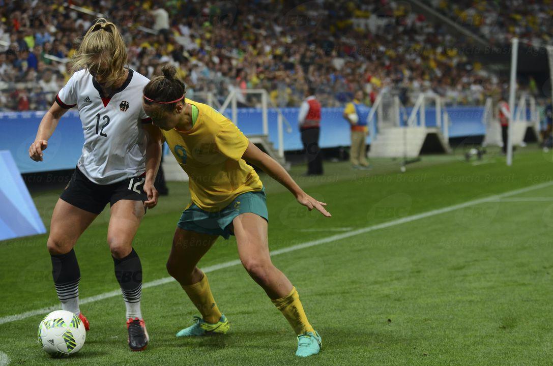 São Paulo - Austrália e Alemanha empatam por 2x2 na Arena Corinthians (Rovena Rosa/Agência Brasil)