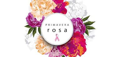 Logomarca do evento Primavera Rosa