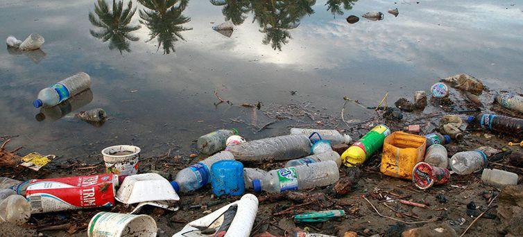 Cerca de 8 milhões de toneladas de plásticos vão parar nos oceanos todos os anos, trazendo graves prejuízos para o meio ambiente