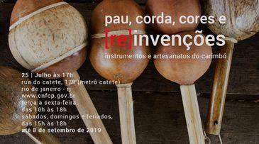 Pau, corda, cores e (re)invenções: instrumentos e artesanatos do Carimbó
