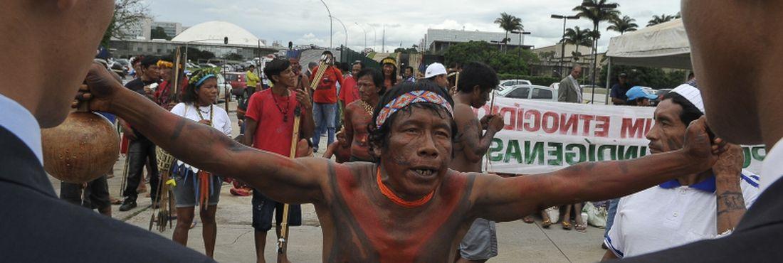 Lideranças indígenas argumentam que as regras colocadas na Portaria 303 ameaçam um processo já consolidado