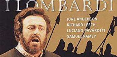 Capa do CD I Lombardi, de Verdi, com Pavarotti