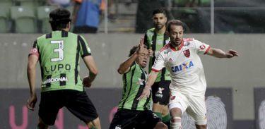 América-MG 2 x 2 Flamengo