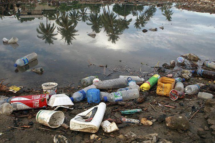 - Poluição provocada por plásticos contamina o solo e os mares -  strong Martine Perret/ONU Meio Ambiente /strong