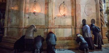 Santo Sepulcro é reaberto - Foto Agência EFE