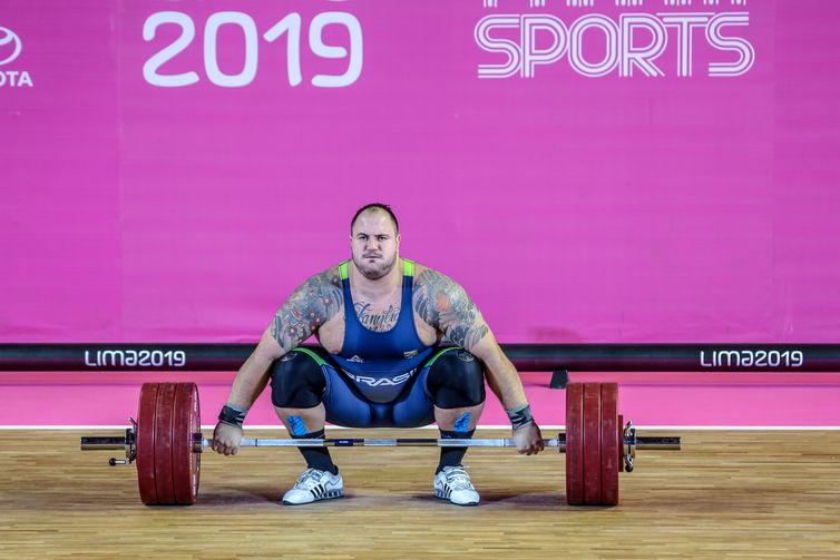 Fernando Reis conquista medalha de ouro nos Jogos Pan-Americanos de Lima 2019.