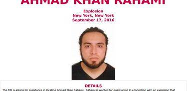FBI procura Ahmad Khan Rahami