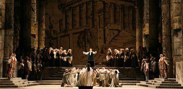 "O Metropolitan Opera House deste domingo traz ""Idomeneo"", de Mozart"