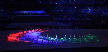 Rio de Janeiro - Cerimônia de abertura dos Jogos Paralímpicos Rio 2016 no Estádio do Maracanã.  (Tomaz Silva/Agência Brasil)