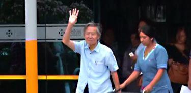 Fujimori, Prisão, volta