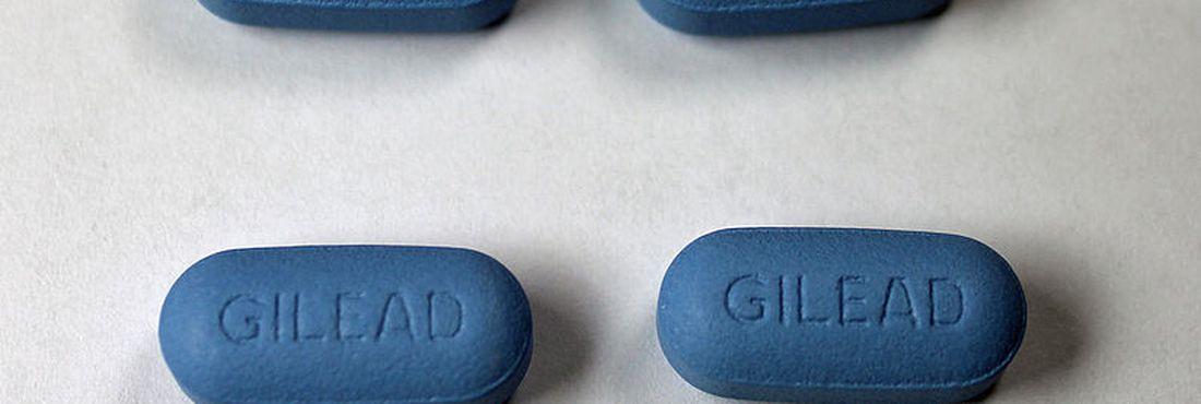 Pílulas do Truvada, medicamento utilizado na prevenção do HIV