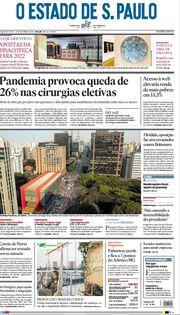 Capa do Jornal O Estado de S. Paulo Edição 2021-09-13