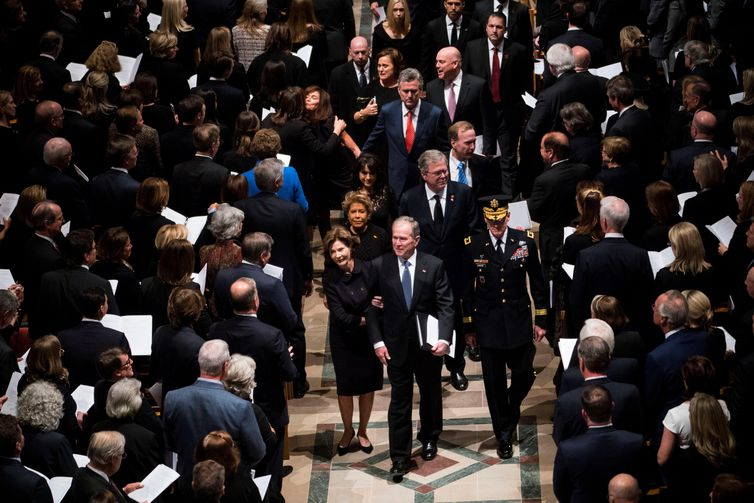Funeral do ex-presidente George H. W. Bush
