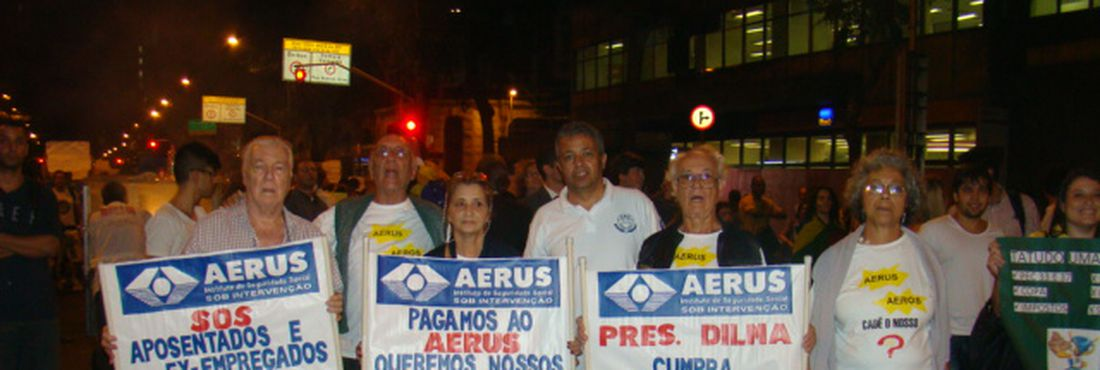 Protesto Aerus