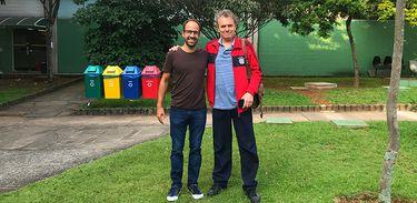 Danilo Penteado e Arrigo Barnabé