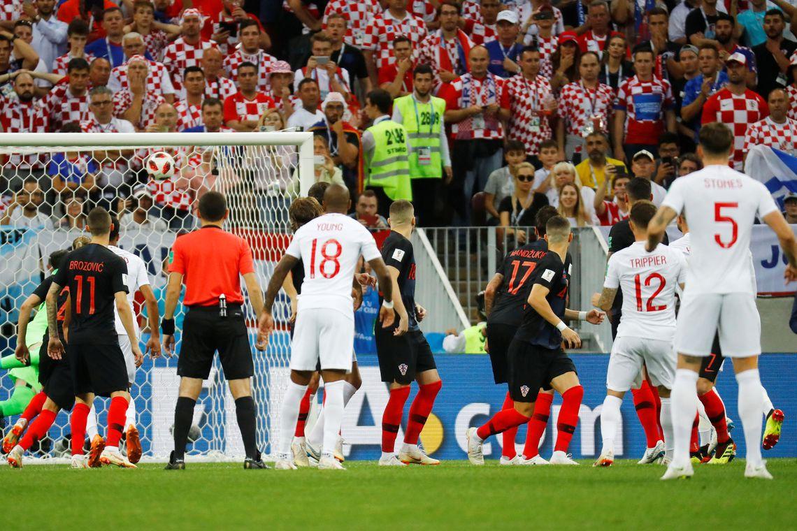Inglaterra enfrenta a Croácia pela semi final da Copa do Mundo 2018