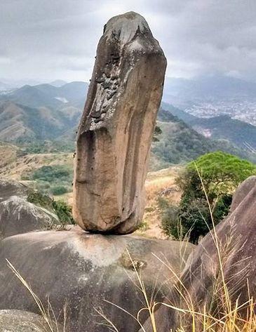 A incrível Pedra do Osso, no Parque Estadual da Pedra Branca