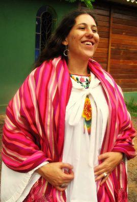 Clarice Andreozzi atua como parteira em Brasília