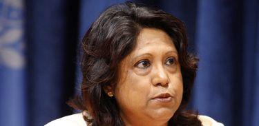 Pramila Patten, representante especial da ONU sobre Violência Sexual em Áreas de Conflito