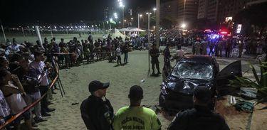 Atropelamento mata bebê em Copacabana - Foto Antonio Lacerda/Agência EFE