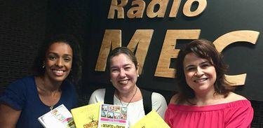 Lívia Marques, Katy Navarro, Luciana Brites no Conversa com o Autor