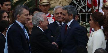 Posse presidente do Paraguai