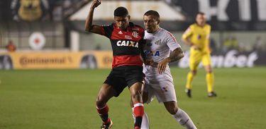 Santos 4 X 2 Flamengo