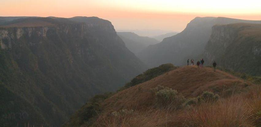 Entre os parques Aparados da Serra e Serra Geral está o maior conjunto de cânions da América Latina