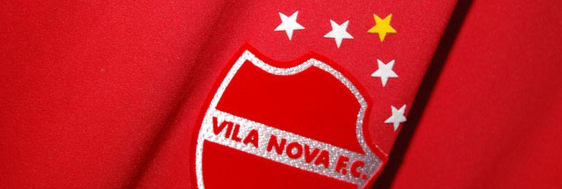 Camisa do Vila Nova, representante goiano na Série C