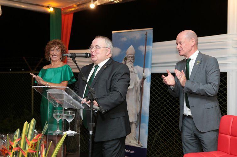 Seán Ó Fearghaíl, presidente da Câmara dos Deputados da Irlanda.