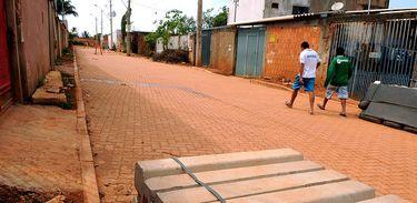 Obras de infraestrutura no Sol Nascente