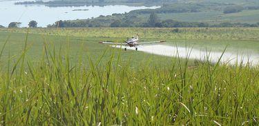 Aviação agrícola é o segundo maior do mundo