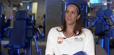 Rebeca Gusmão no conversa com Roseann Kennedy