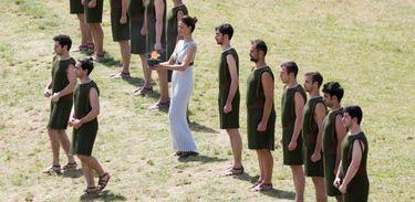 Símbolo dos Jogos Olímpicos da Modernidade, a Chama Olímpica faz parte de um ritual realizado desde a Grécia Antiga (Roberto Castro/Ministério do Esporte)