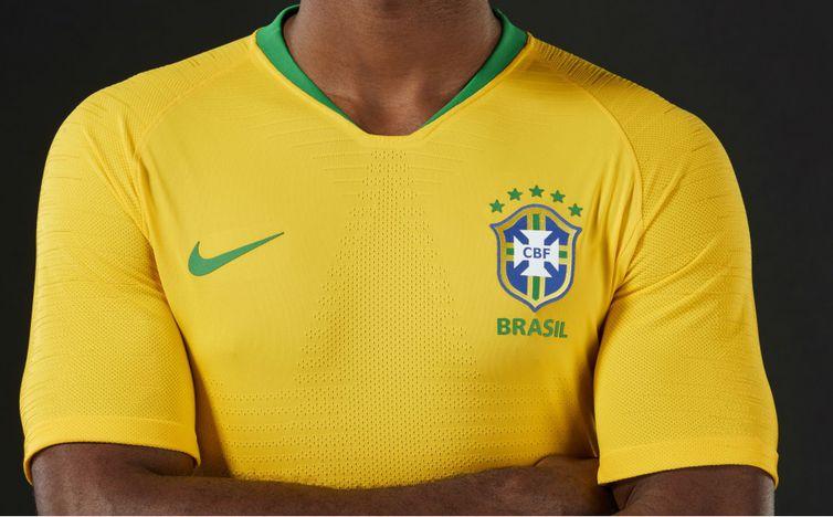 Brasil define uniforme que usará nos três jogos da primeira fase ... 0e3a982c9981e
