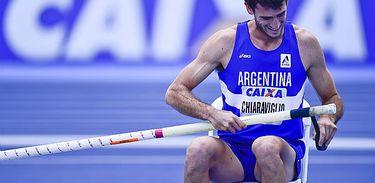 Germán Chiaraviglio, da Argentina, é um dos atletas que vão participar das competições