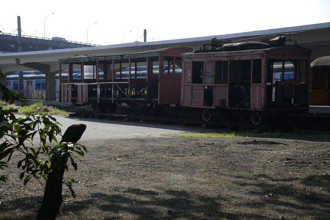 Estação ferroviária Barão de Mauá, na Leopoldina, onde está armazenado o acervo histórico da malha do Rio de Janeiro, que será preservado e digitalizado em parceria do MPRJ e a Secretaria de Transportes do Estado.