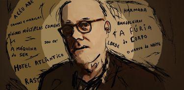 João Gilberto Noll é o homenageado do Marca Página