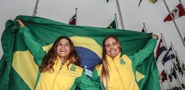 Martine Grael e Kahena Kunze serão as porta-bandeiras do Time Brasil na Abertura dos Jogos Pan-americanos Lima 2019